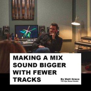 Mix sound