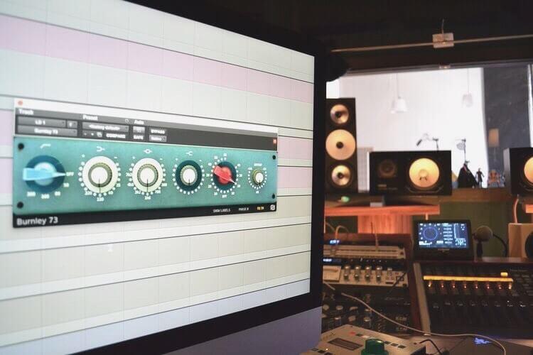 Burnley 73 at Repercussion studios